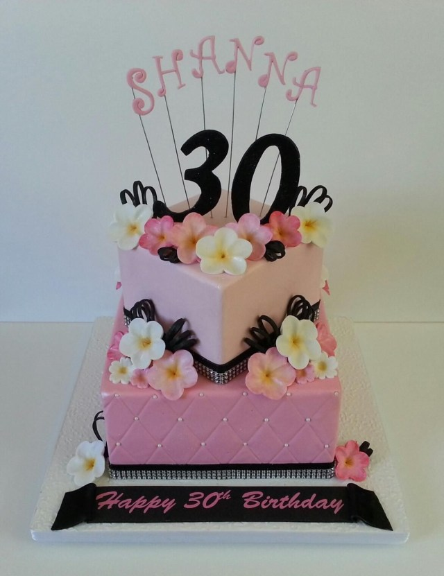 40Th Birthday Cake Ideas For Her My 30 Th Birthday Cake Cake Ideas Pinterest 30 Birthday