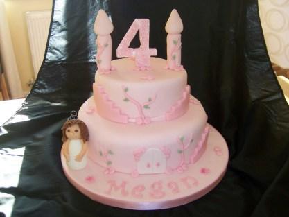 4Th Birthday Cake 8 Princess 4th Birthday Cakes For Girls Photo 4th Birthday
