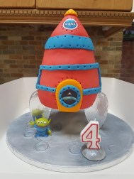 4Th Birthday Cake My Sons 4th Birthday Cake Not Perfect But He Loved It Cakes