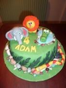 4Th Birthday Cake Please Do Not Feed The Animals Adams 4th Birthday Cake