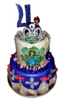 4Th Birthday Cake Princess Sofia The First 4th Birthday Cake Cakecentral