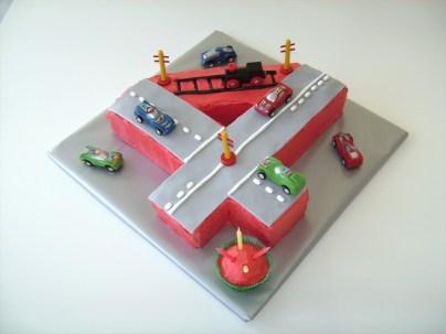 4Th Birthday Cake Rosie Posies Creations Harrys 4th Birthday Cake
