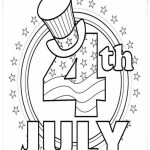 4th Of July Coloring Pages Independence Day Of 4th July Coloring Page For Kids At Pages 4th