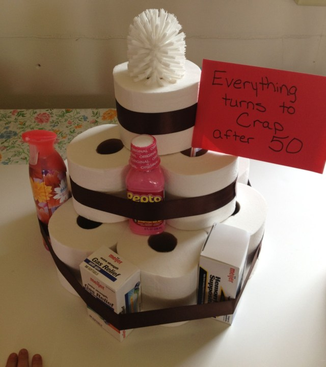 50Th Birthday Cake Ideas For Her 50th Birthday Cake Ideas For Her Elegant Toilet Paper Cake Fun Gag T