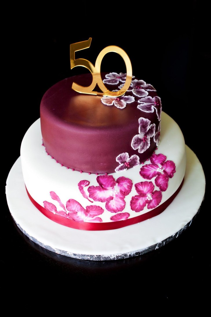 25+ Awesome Photo of 50Th Birthday Cake Ideas For Her