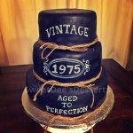 50Th Birthday Cake Ideas For Him Vintage Whiskey 40th Aged To Perfection Cake Party Over Here