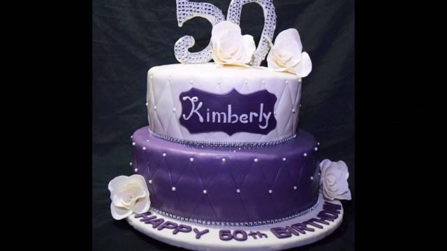 50Th Birthday Cake Images 50th Birthday Cake Youtube