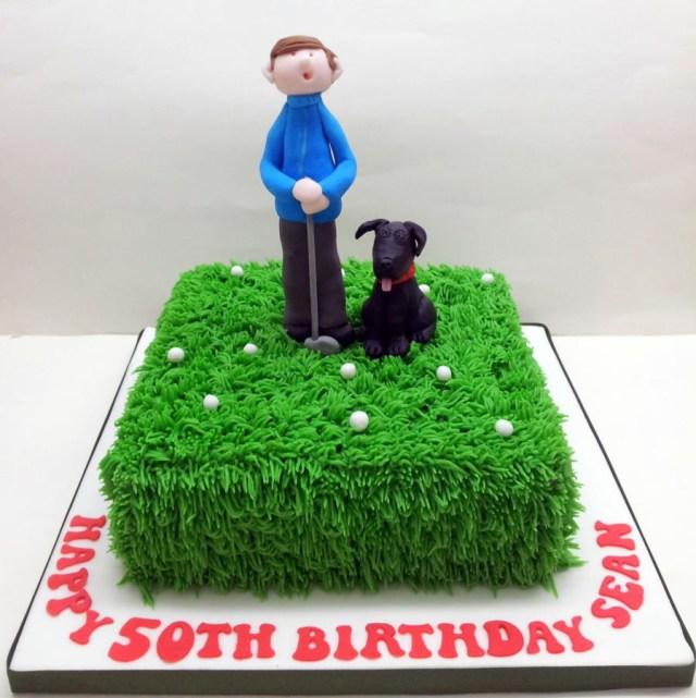 50Th Birthday Cakes For Men 50th Birthday Cake Cake Sarah Poole Cakesdecor