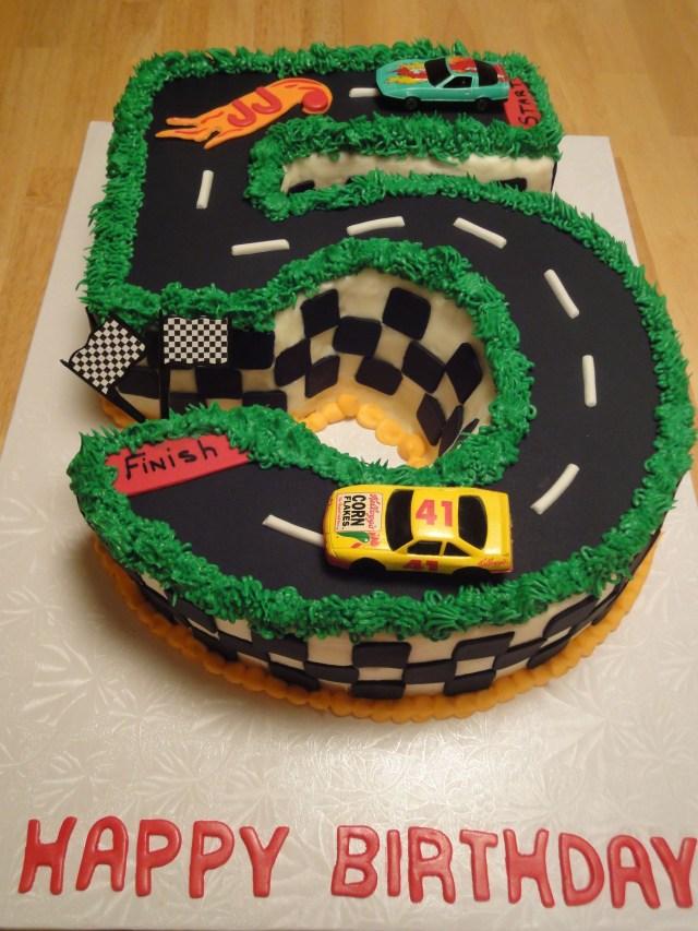 5Th Birthday Cake Happy Birthday To A 5 Year Old Boy Hot Wheels Cake Janies Sweet