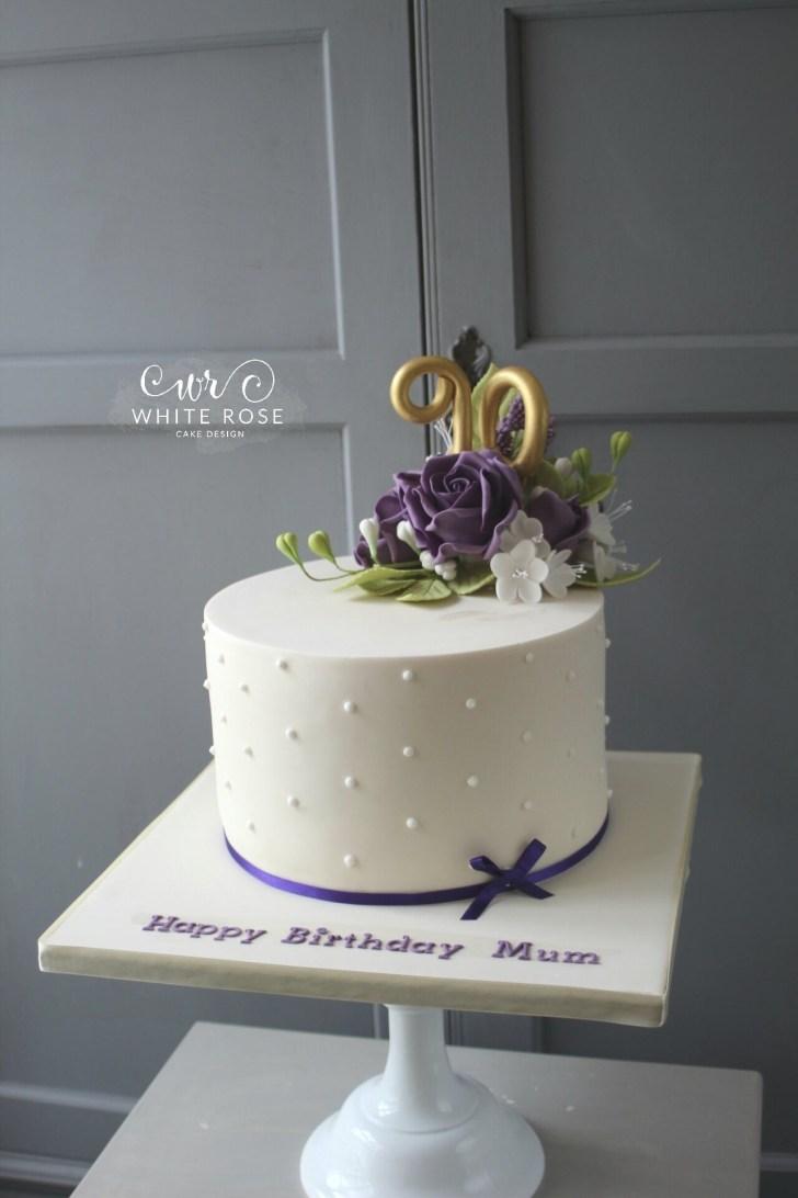 25+ Pretty Photo of 90Th Birthday Cake Ideas