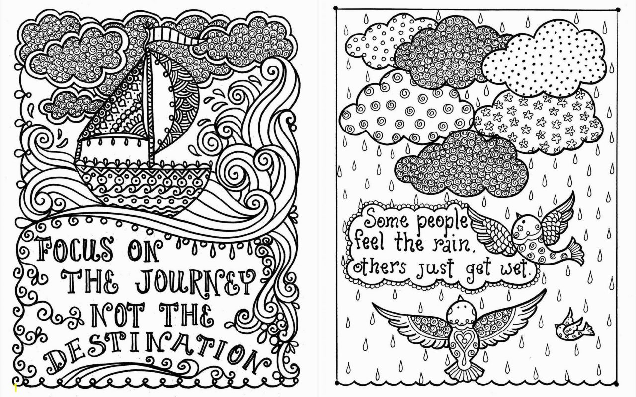 Free Positive Quotes Coloring Pages Coloring Ideas