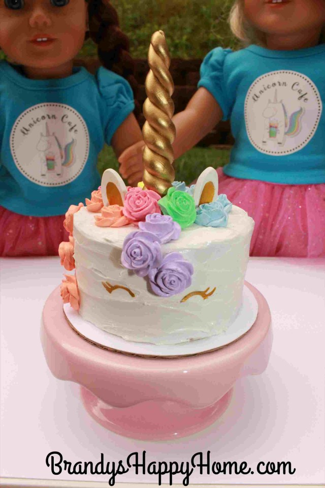 American Girl Birthday Cake In Nyc Youtuberhyoutubecom Brynnus American Girl Cake Images Th
