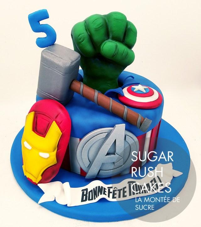 Avengers Birthday Cakes Avengers Birthday Cake Sugar Rush Cakes Montreal