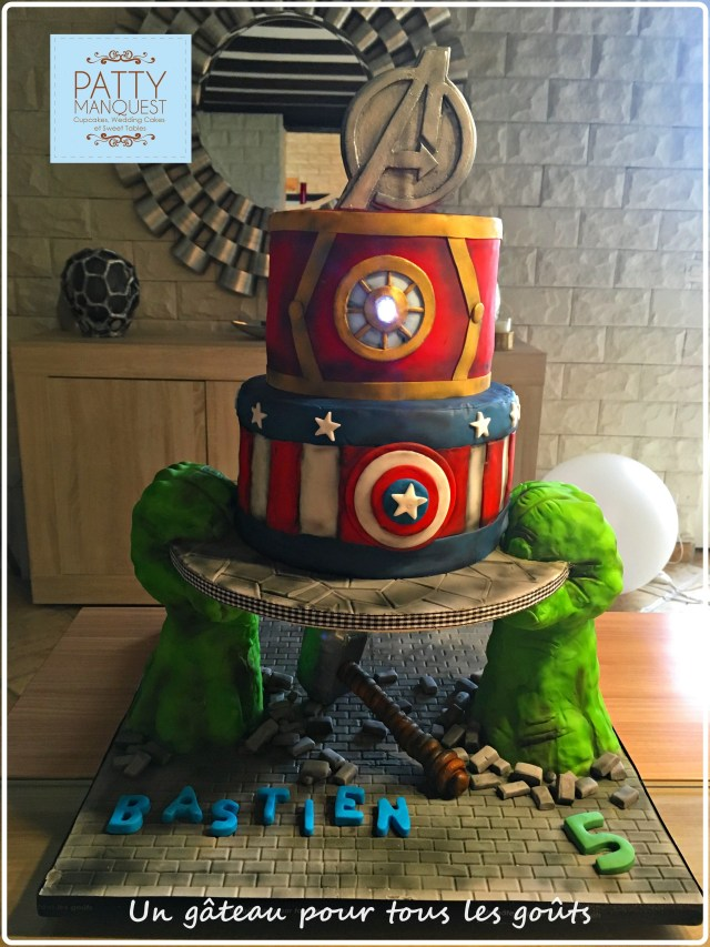 Avengers Birthday Cakes Avengers Birthday Cake Torta De Avengers Gteau Avengers