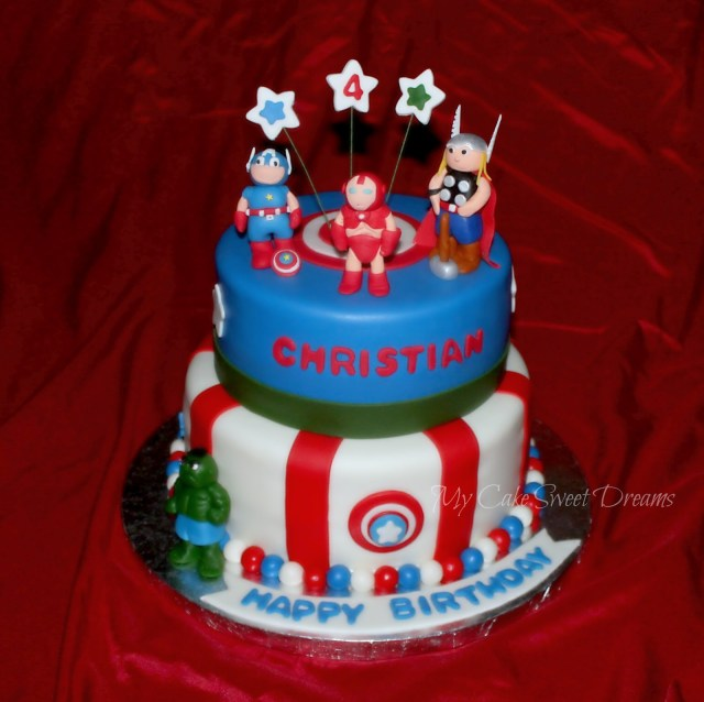 Avengers Birthday Cakes Mycakesweetdreams Avengers Birthday Cake