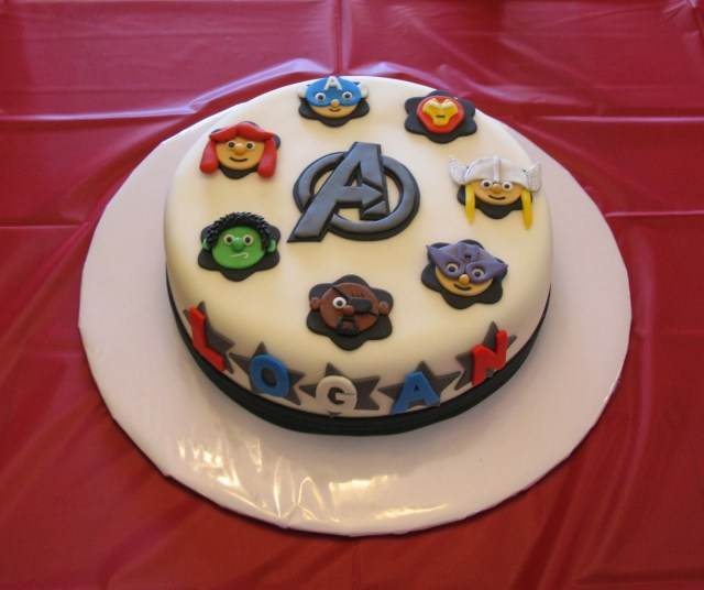 Avengers Birthday Cakes Wickd Cakes The Avengers
