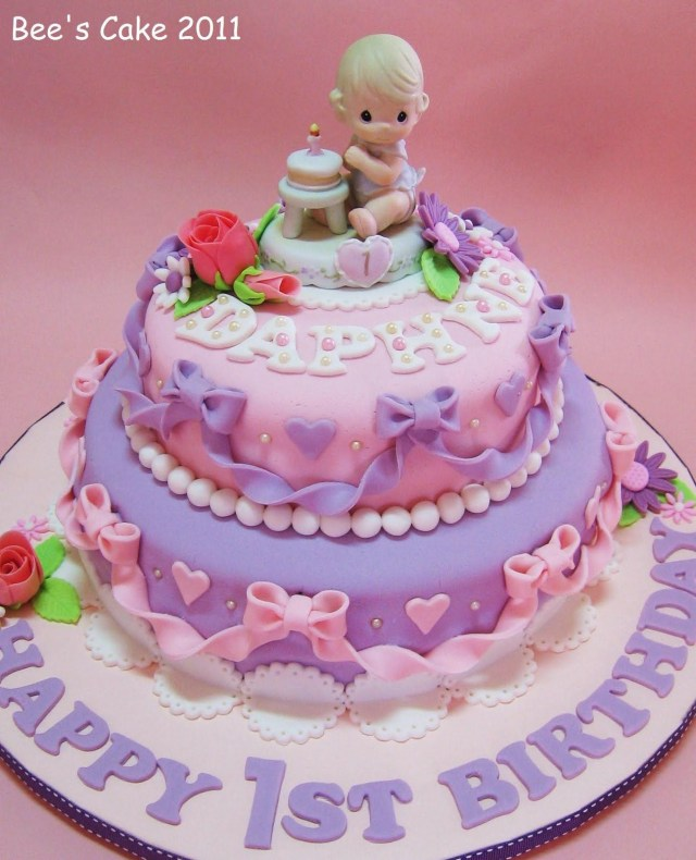 Baby Girl Birthday Cake Ba Girls 1st Birthday Cake 1st Birthday For My Girl Ba Pinte