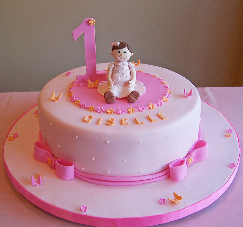 Baby Girl Birthday Cake Princess Special For Ba 1st