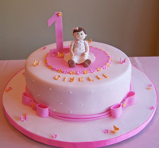 Baby Girl Birthday Cake Princess Birthday Special Cake For Ba Girl 1st Birthday Cake For