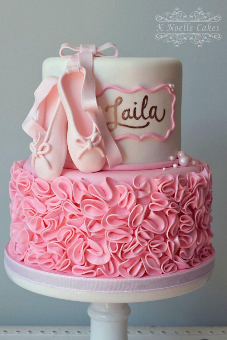 35+ Pretty Picture of Ballerina Birthday Cake