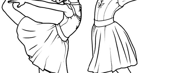 Ballet Coloring Pages Leap Ballerina Coloring Pages Free Coloring Pages
