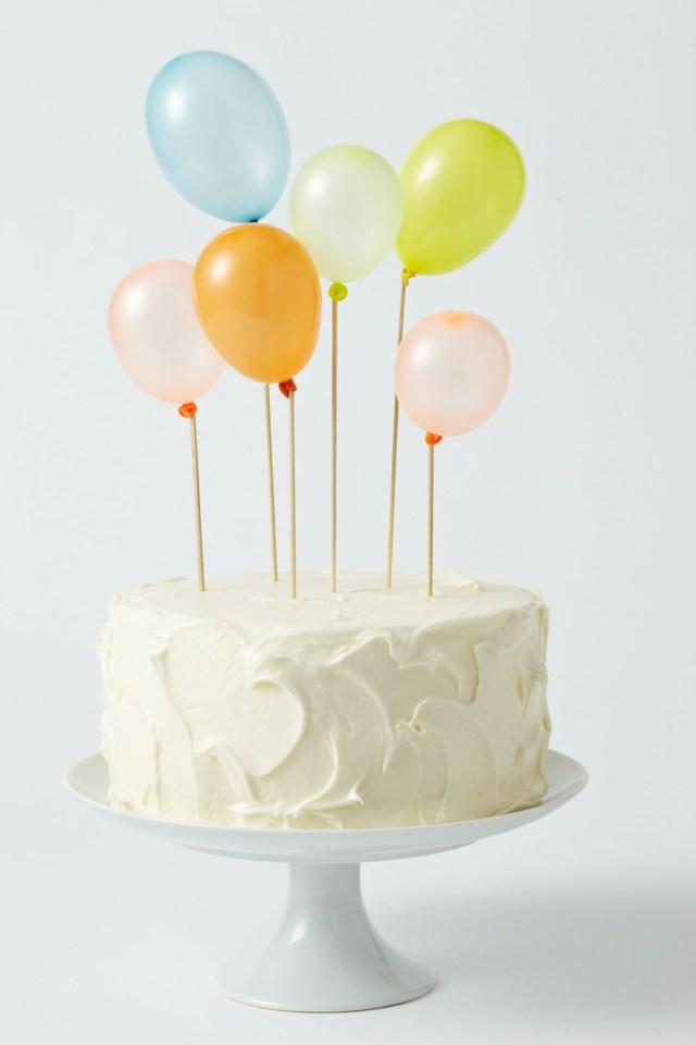 Balloon Birthday Cake Diy Projects Crafts Cake Ideasinspiration Pinterest Cake