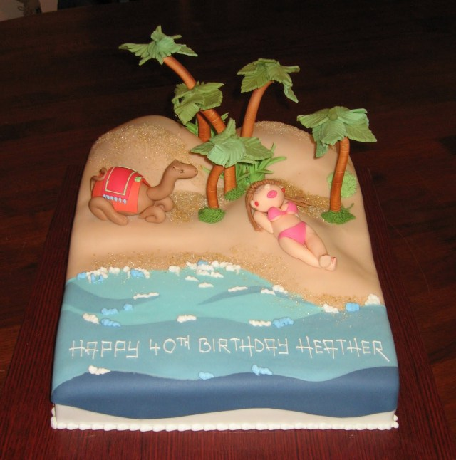 Beach Theme Birthday Cake Beach Themed Birthday Cake Beach Themed Birthday Cake Ideas