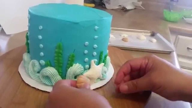 Beach Theme Birthday Cake Ocean Theme Cake Beach Cake Youtube