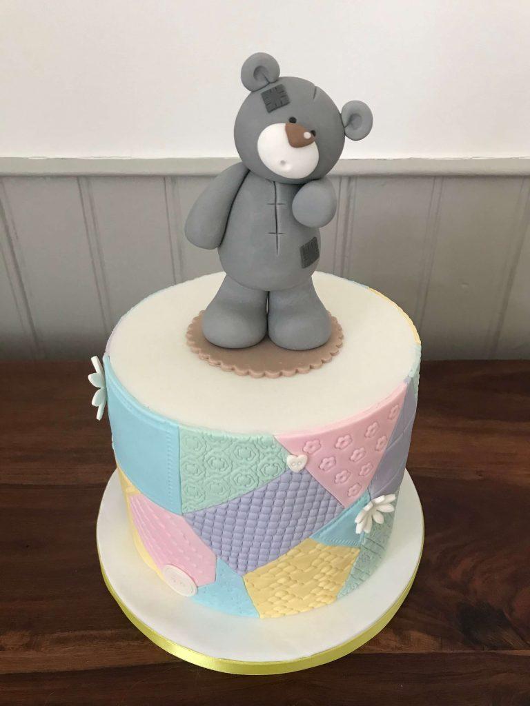 Bear Birthday Cake Teddy Sweet Bites