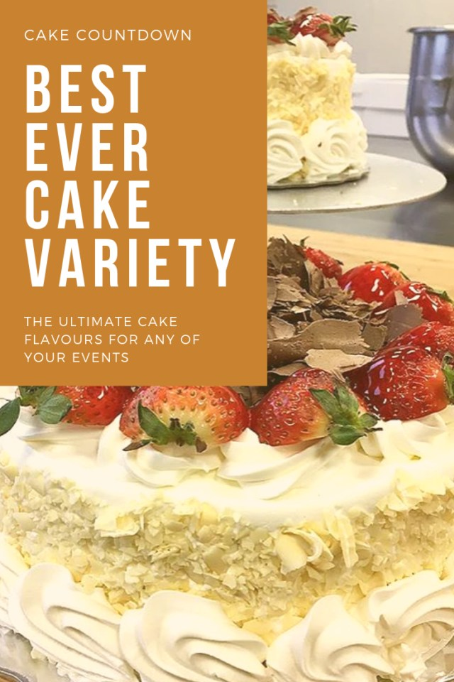 Best Birthday Cake Flavors The Best Every Cake Variety You Will Find In Toronto Over 20 Cake