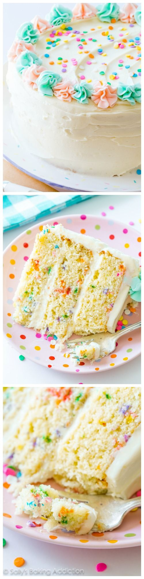 Best Birthday Cake Flavors The One And Only Funfetti Cake Recipe You Need Best Of Pinterest