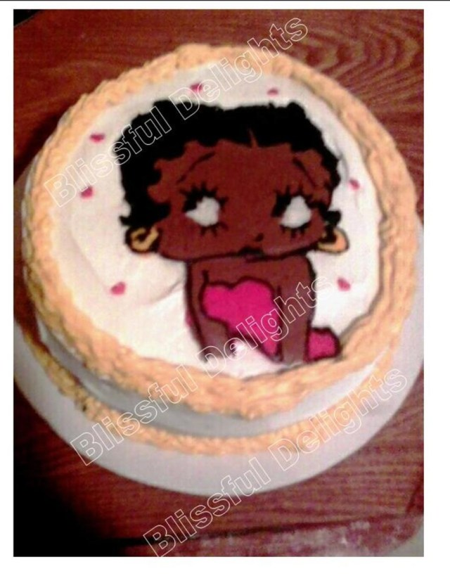 Betty Boop Birthday Cakes African American Betty Boop Cake Cakecentral