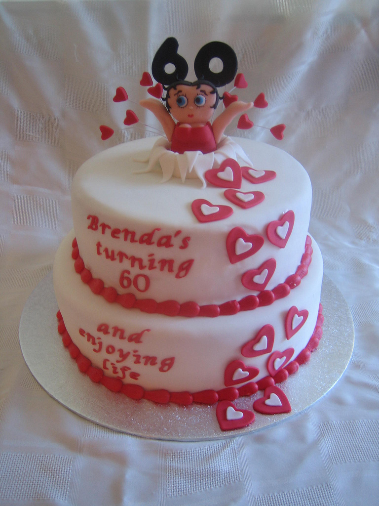 Betty Boop Birthday Cakes Cake A Photo On Flickriver