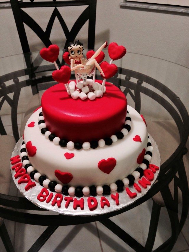 Betty Boop Birthday Cakes Betty Boop Cake Cakes Cake Novelty Cakes Betty Boop