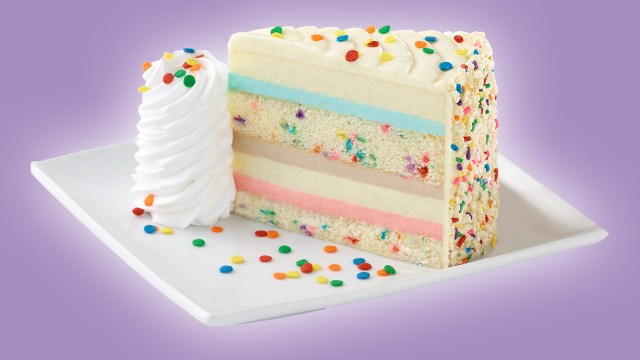Birthday Cake Cheesecake The Cheesecake Factorys New Flavor Is Funfetti