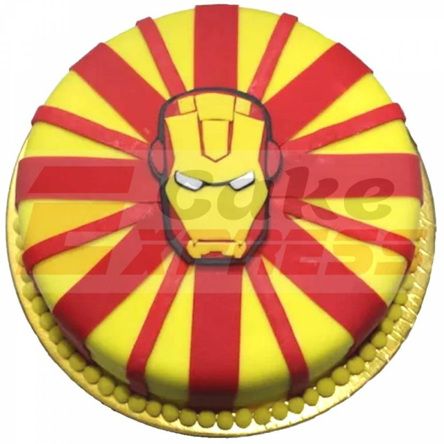 Birthday Cake Delivery Delhi Ncr Special Iron Man Theme Customized Cake Delivery In Delhi