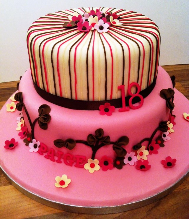 Birthday Cake Designs 18th Birthday Cakes Both For Boys And Girls Protoblogr Design
