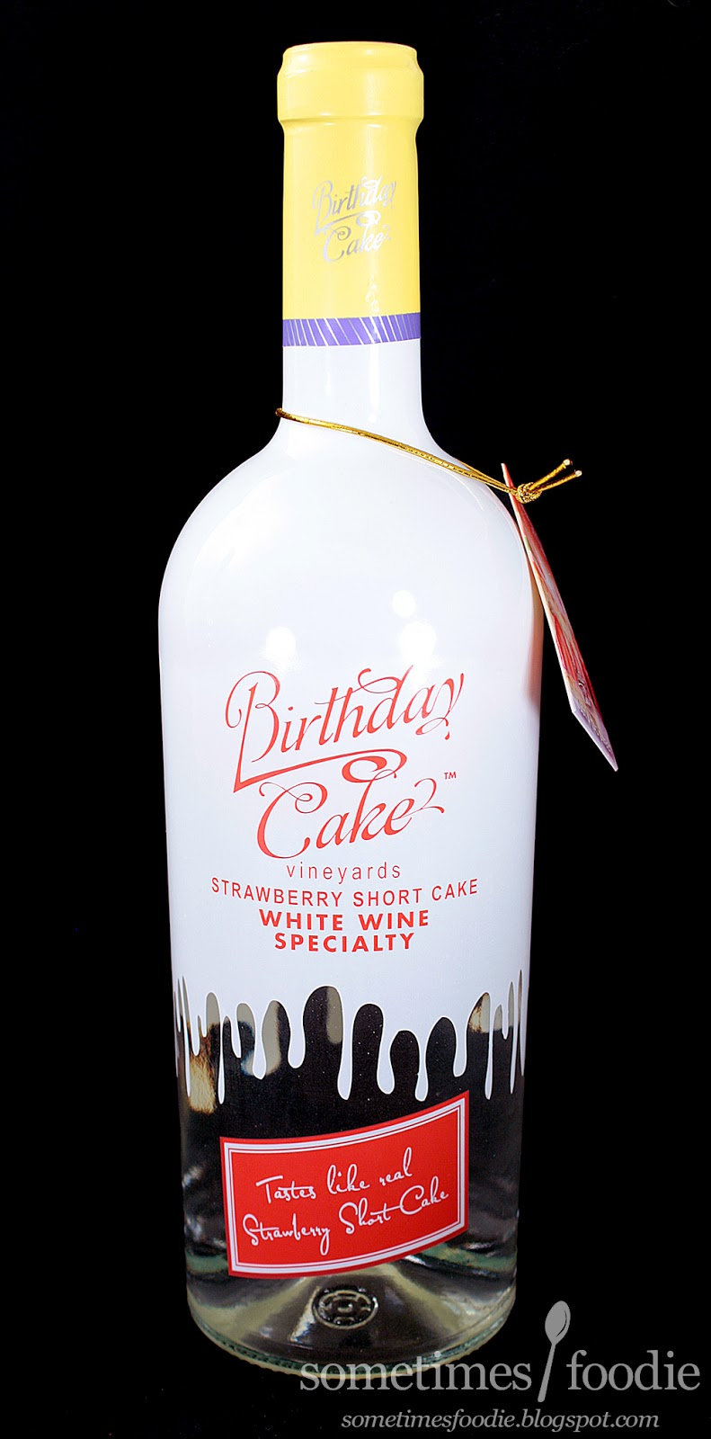 Birthday Cake Drink Sometimes Foodie Brand Strawberry Shortcake Wine