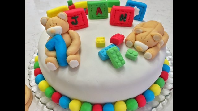 Birthday Cake For 1 Year Old One Year Old Birthday Cake Youtube