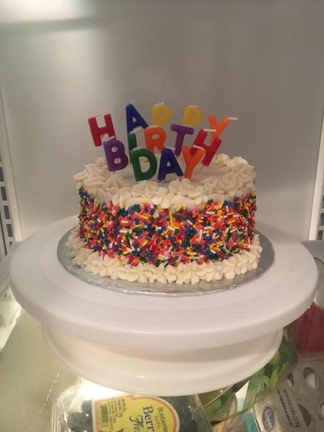 Birthday Cake For Boyfriend My Boyfriends Birthday Cake Really Proud Of My First Time