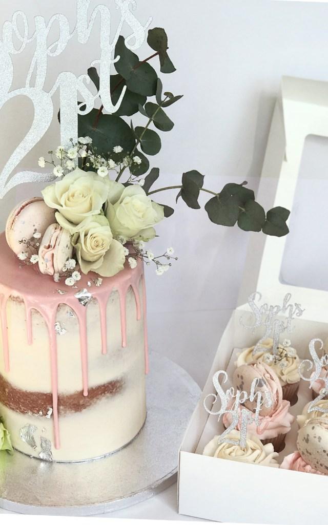 Birthday Cake For Her 21st Birthday Cakes For Her Buttercreamdrip Cake Antonias Cakes