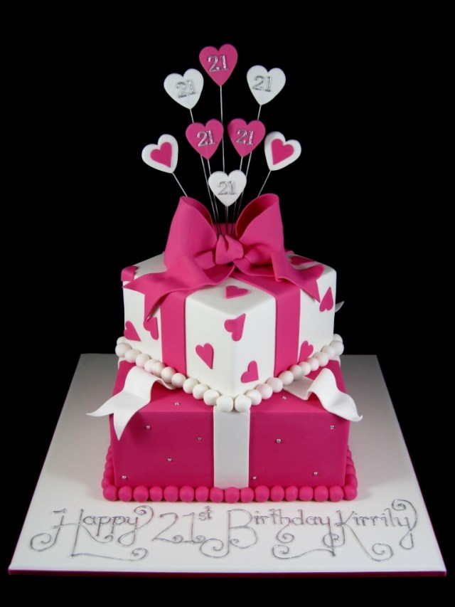 Birthday Cake For Her 21st Birthday Cakes For Her Reha Cake Inside Birthday Cake Ideas For