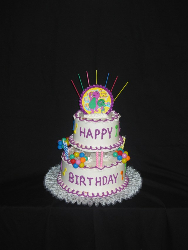 Birthday Cake For Her Tiered Birthday Cakes Taylors Bakery