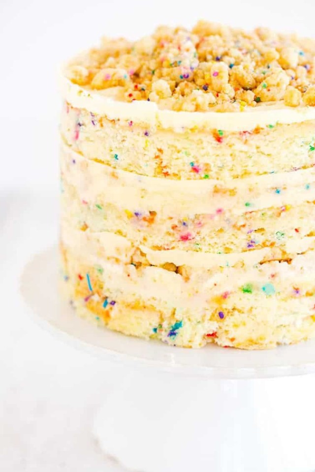 Birthday Cake Frosting Momofuku Birthday Cake Brown Eyed Baker