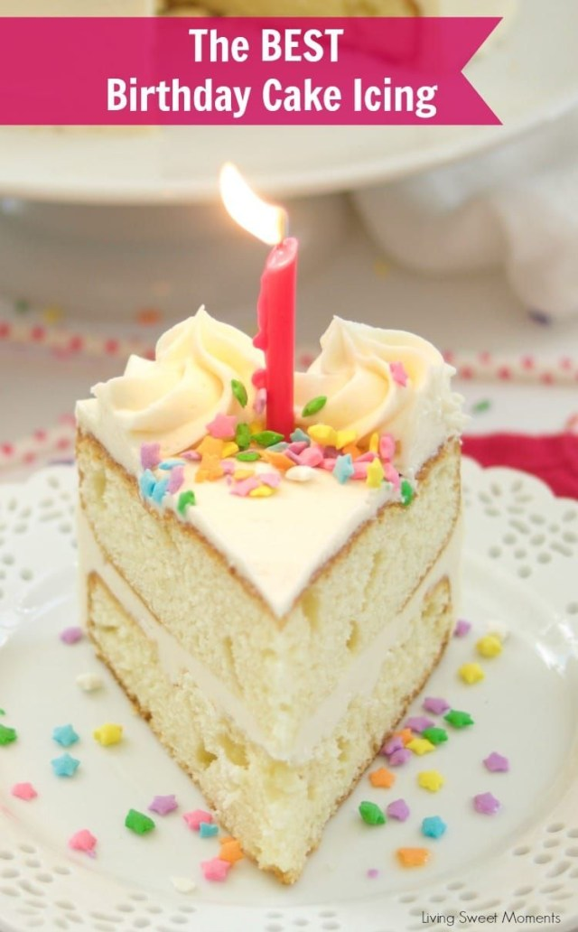 Birthday Cake Icing Recipe Birthday Cake Icing Recipe Sweet Treats Pinterest Cake Cake