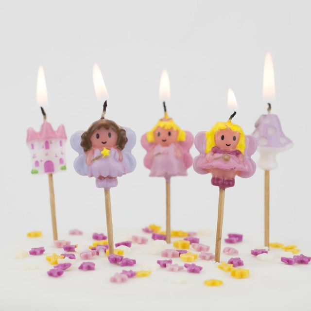 Birthday Cake Images With Candles Fairy Birthday Cake Candles We Love To Create