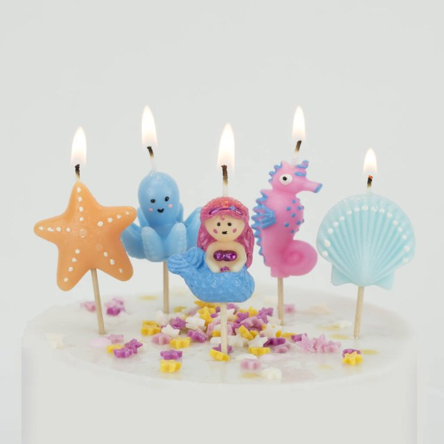 Birthday Cake Images With Candles Mermaid Candles Birthday Cake Under The Sea We Love To Create