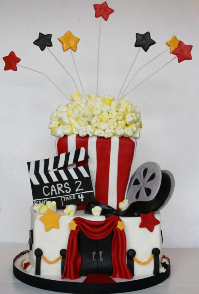 Birthday Cake Movie Movie Night Cake Cakes Pies Breads Pinterest Cake Movie
