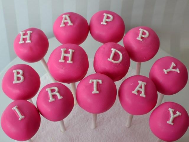 Birthday Cake Pop Birthday Cake Cake Pops Fondant Cake Images Cake Pops