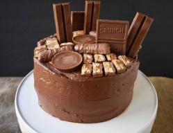 Birthday Cake Recipes Candy Bar Stash Chocolate Cake Modern Honey